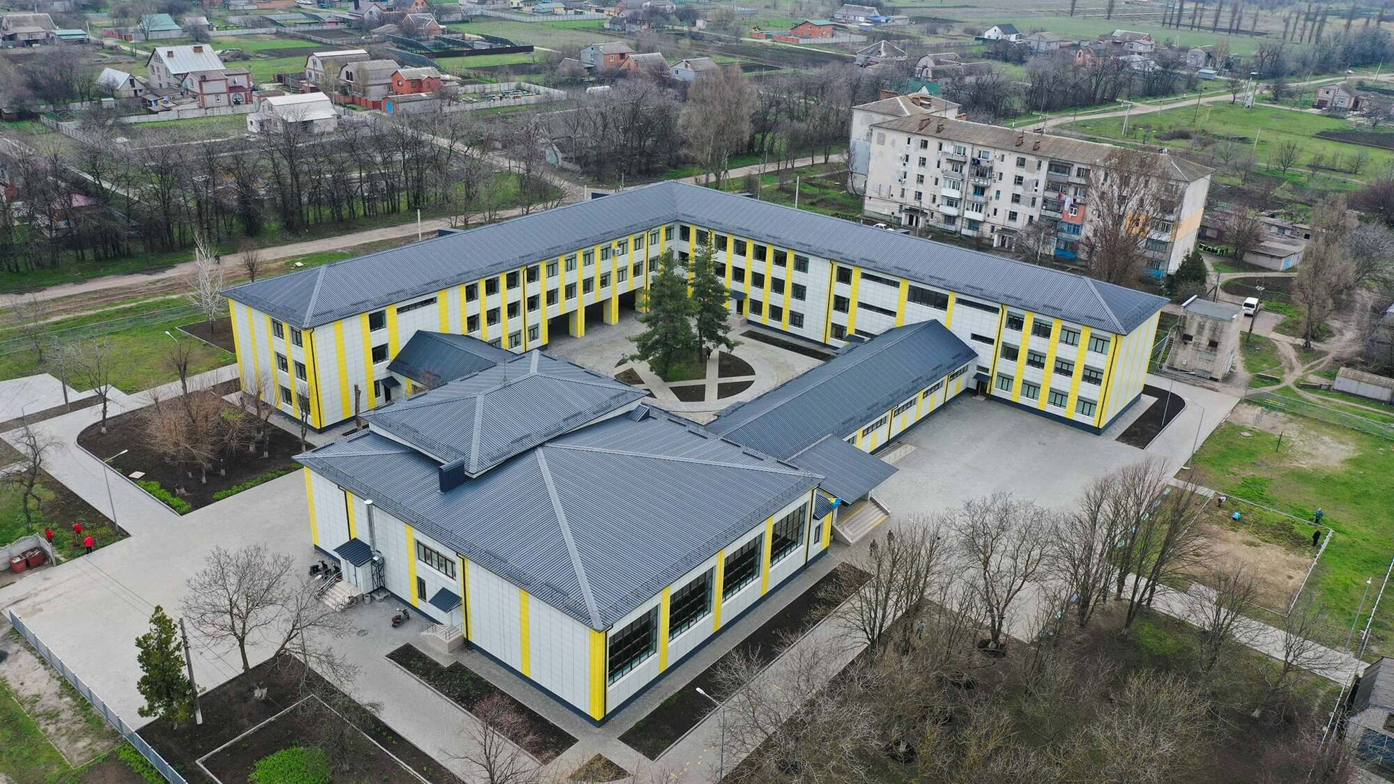 Школа №1 в городе Апостолово
