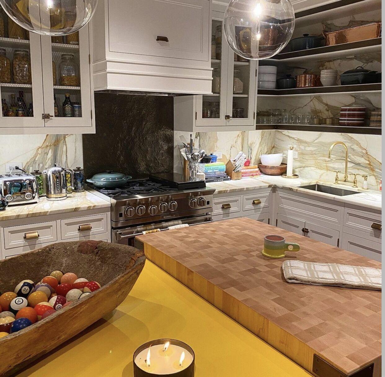 Как выглядит кухня Джиджи Хадид.