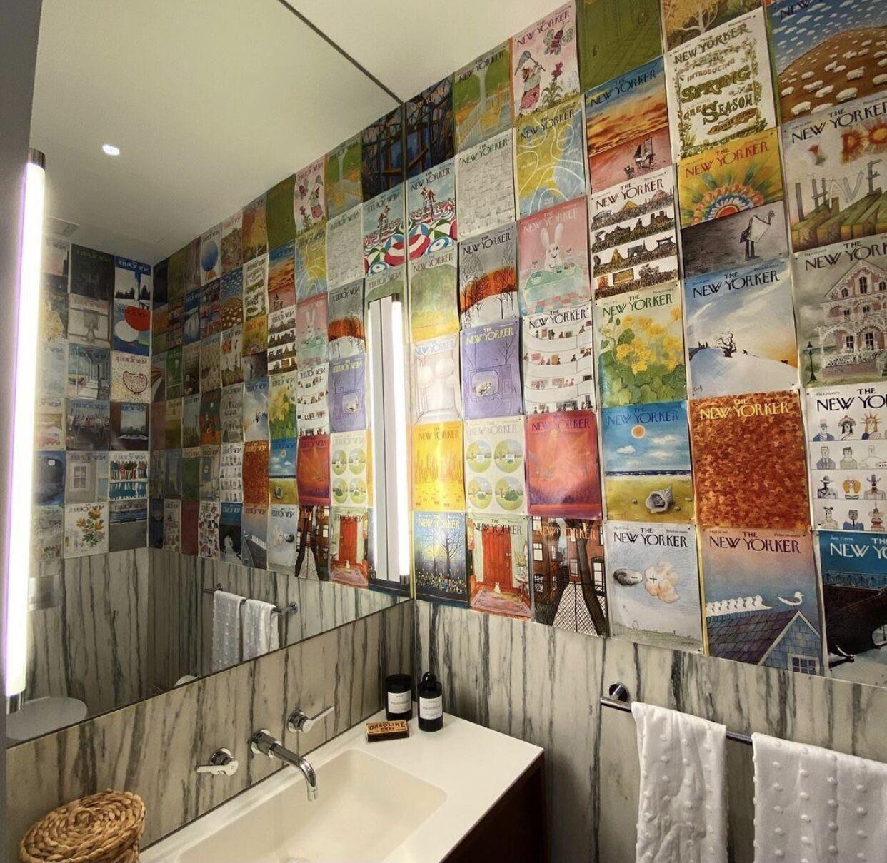 Как выглядит ванная комната Джиджи Хадид.