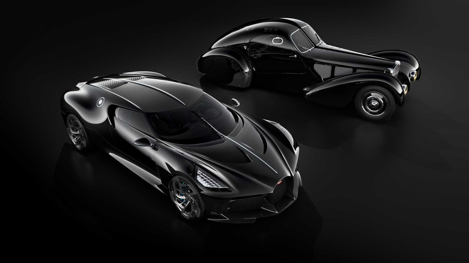 Bugatti La Voiture Noire і Type 57 SC Atlantic