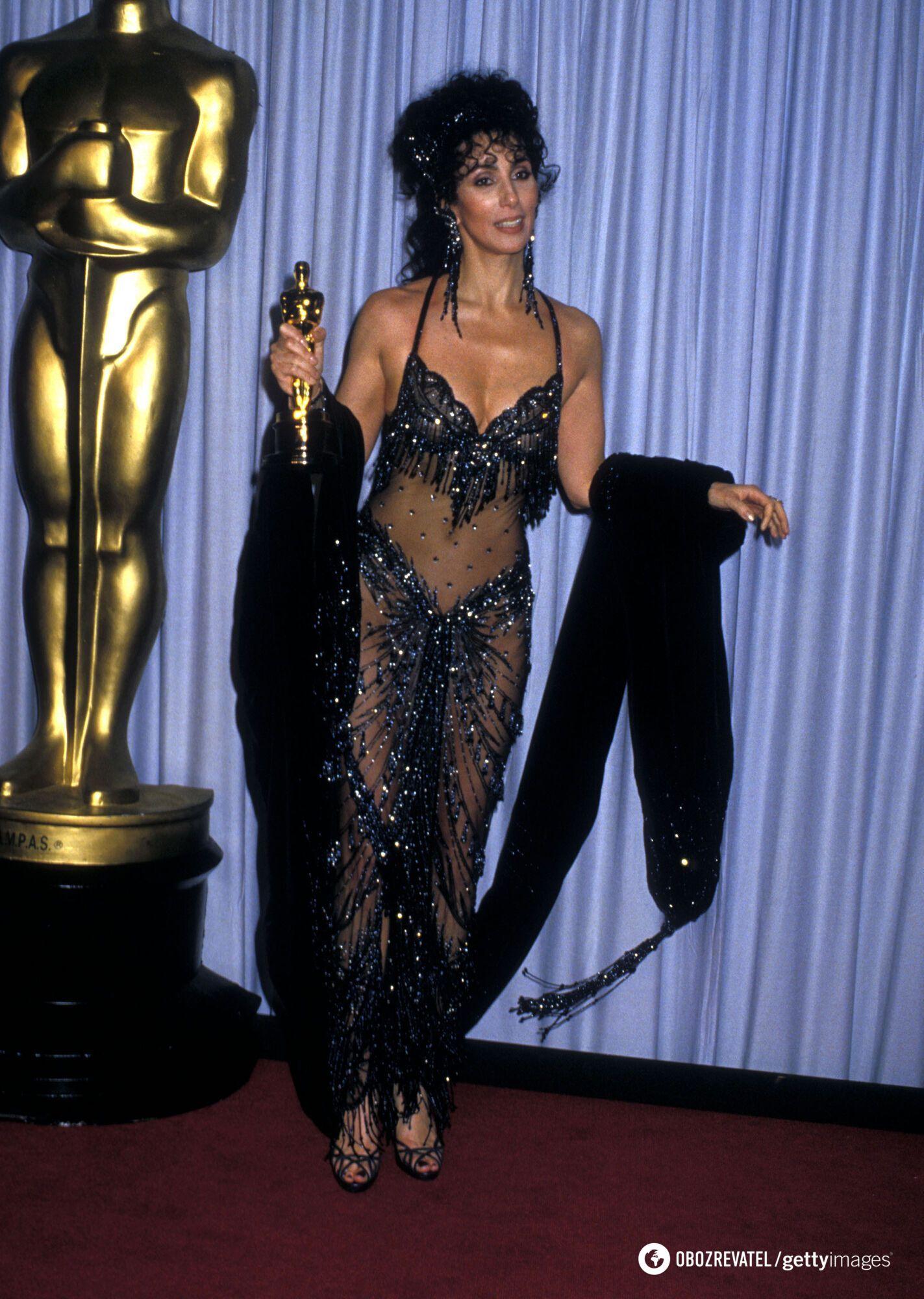 """Шер, """"Оскар-1988"""""""