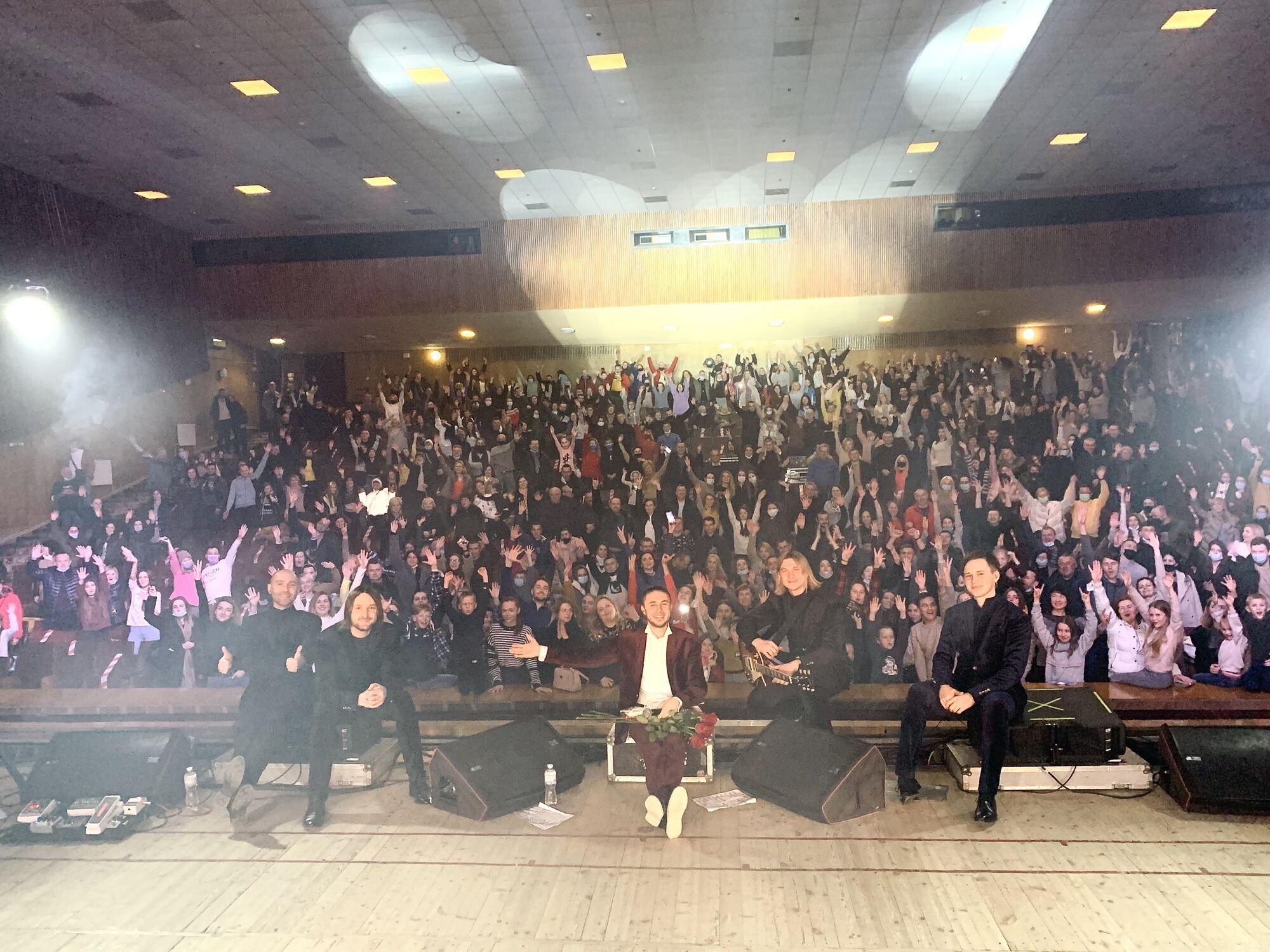 """Гурт """"Антитіла"""" переніс стадіонні концерти на 2022 рік"""