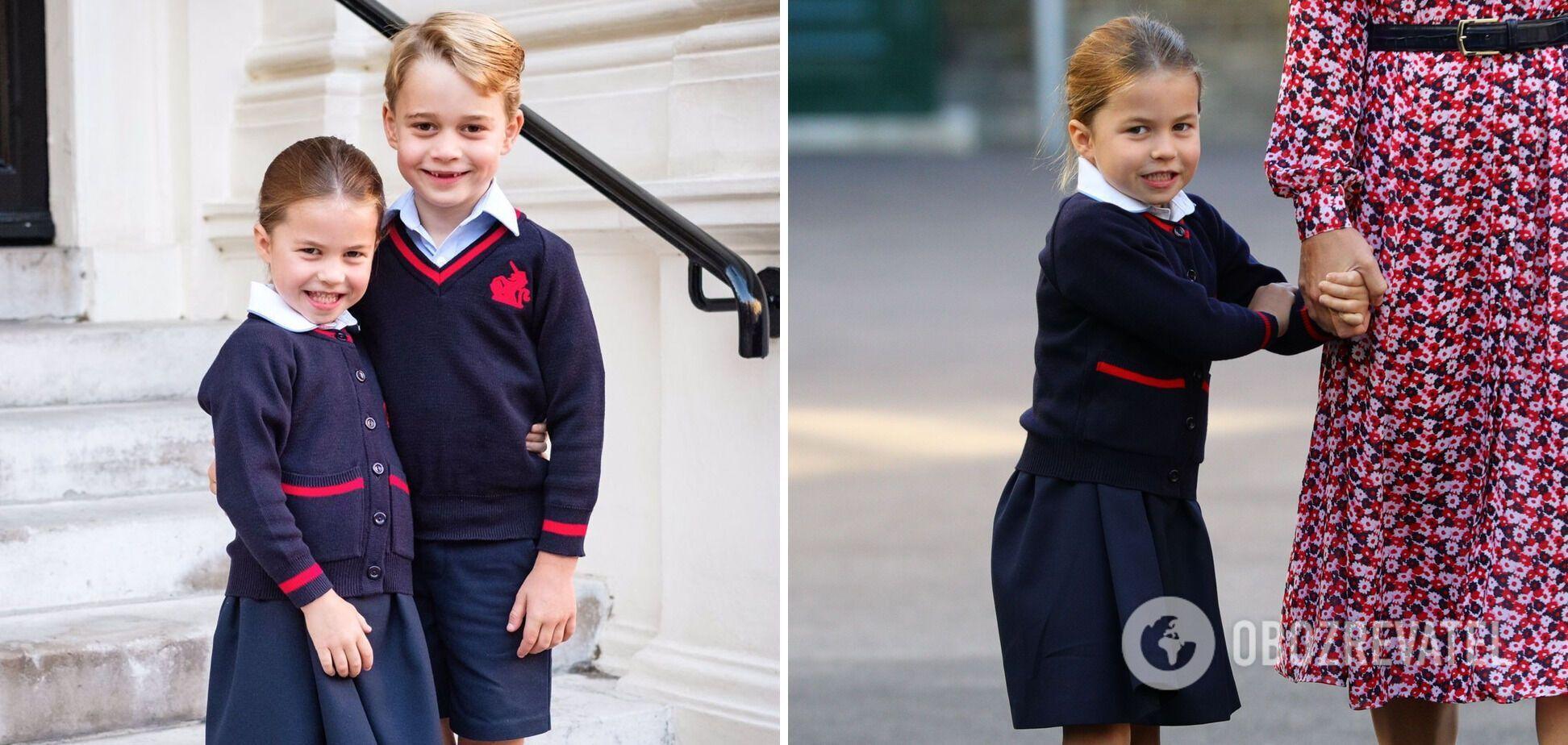 Принцеса Шарлотта росте справжнім керівником і має суворий характер