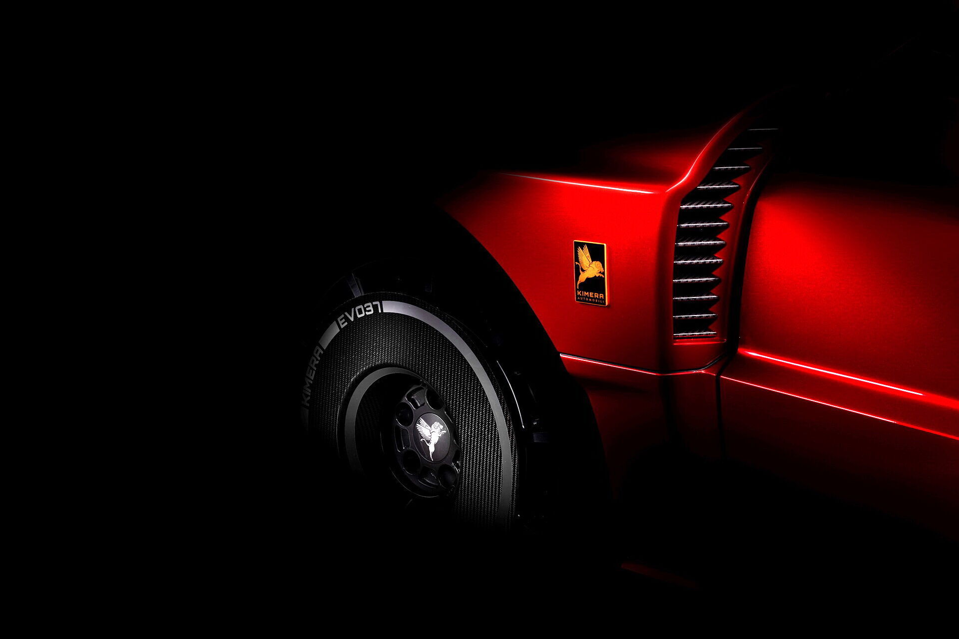 Kimera EVO37 створена за мотивами легендарного спортивного автомобіля Lancia Rally 037
