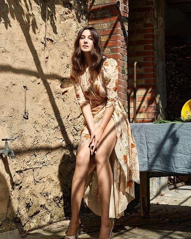 Беллуччи стала звездой обложки нового номера журнала Madame Figaro