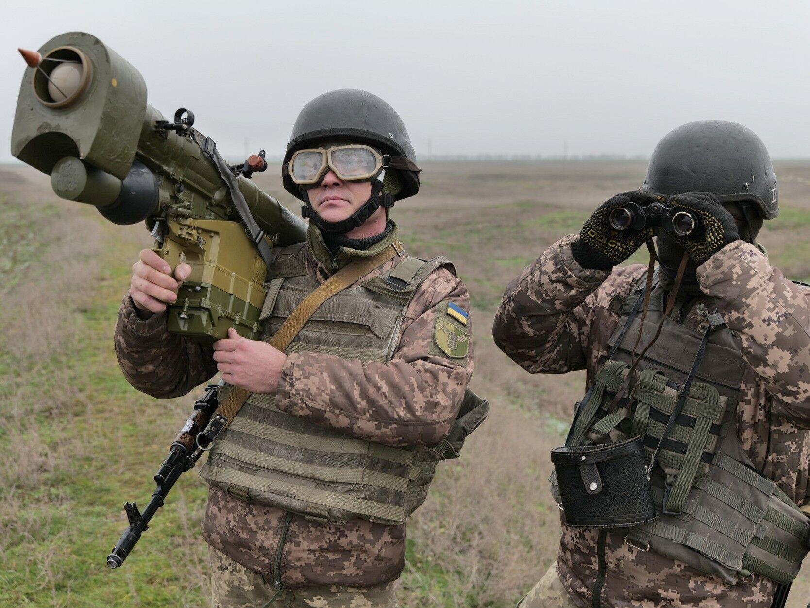 Воїни ЗСУ в наближених до бойових умовах тренувалися збивати повітряні цілі ворога