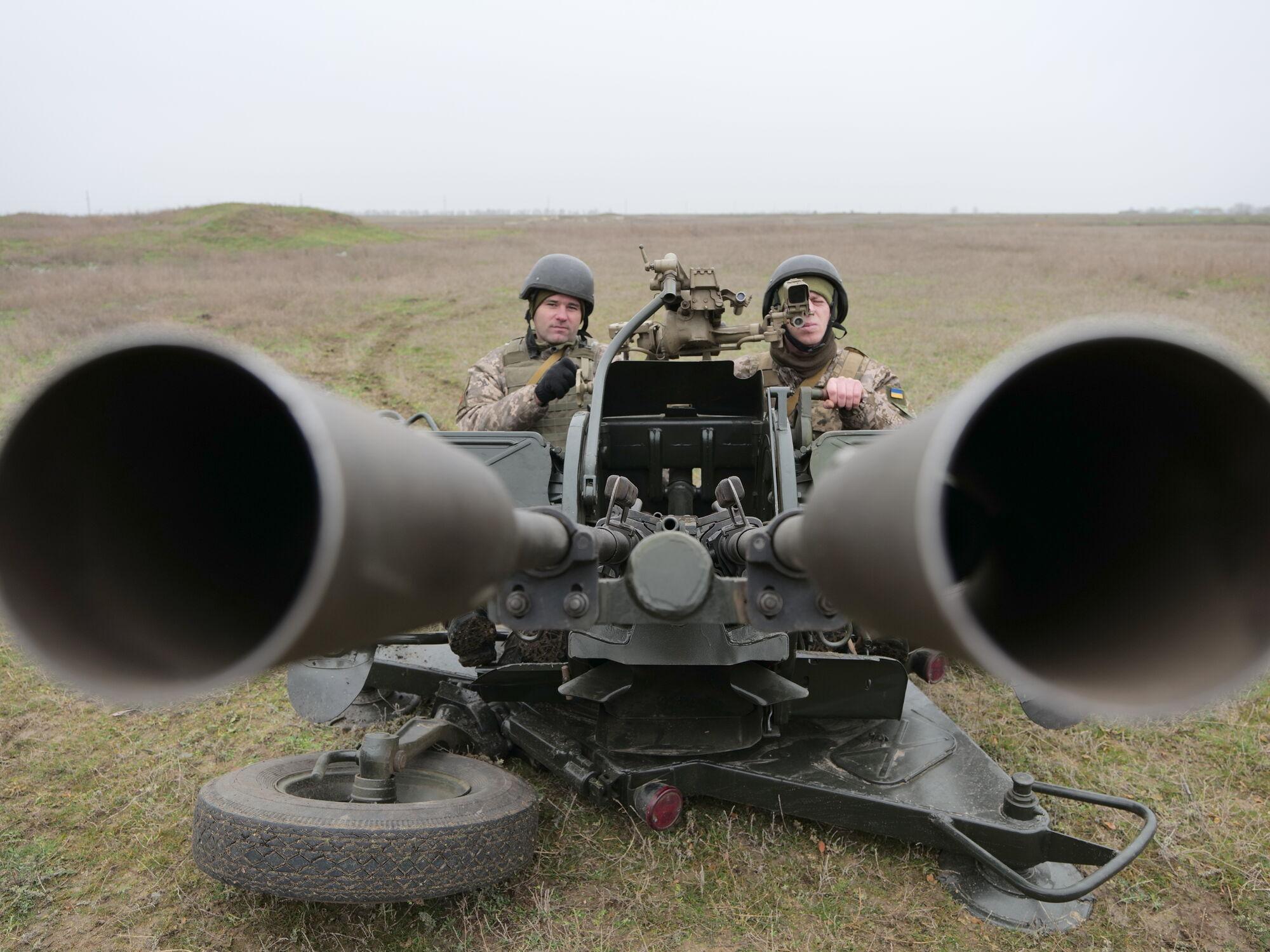 Воїни ЗСУ відпрацювали прийоми протиповітряного бою