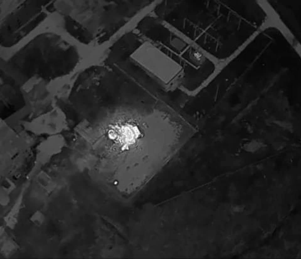 """На базі окупантів у передмісті Донецька згорів ЗРК """"Оса"""", також багато іншої пошкодженої техніки"""