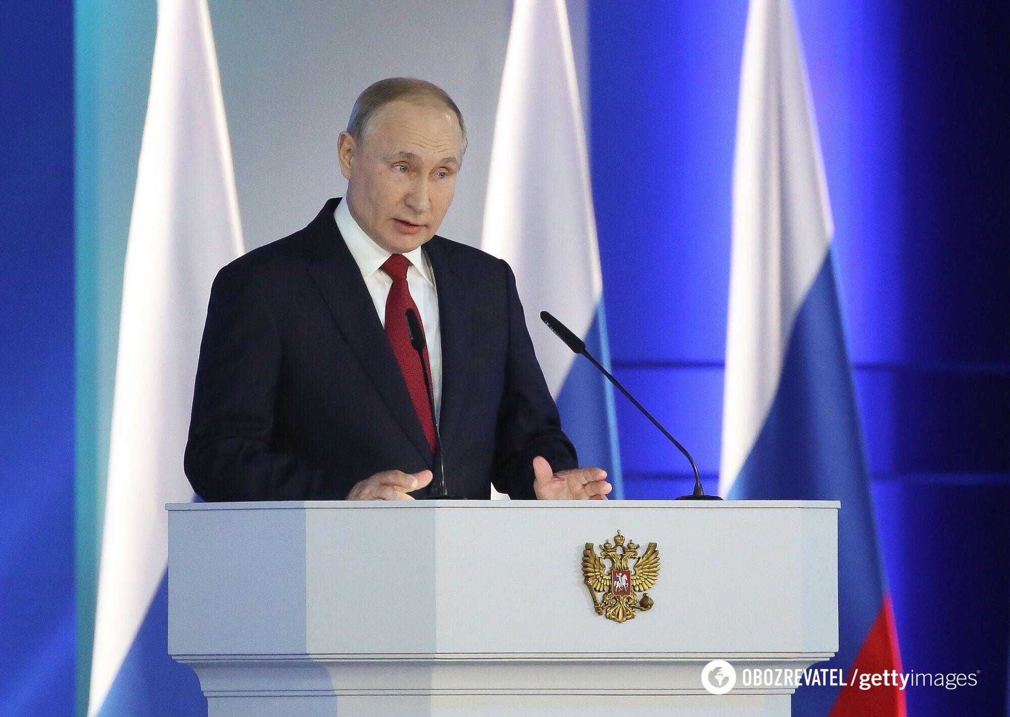 """Президент Росії планує, щоб США та інші західні країни """"ставилися до нього, як до рівного"""""""