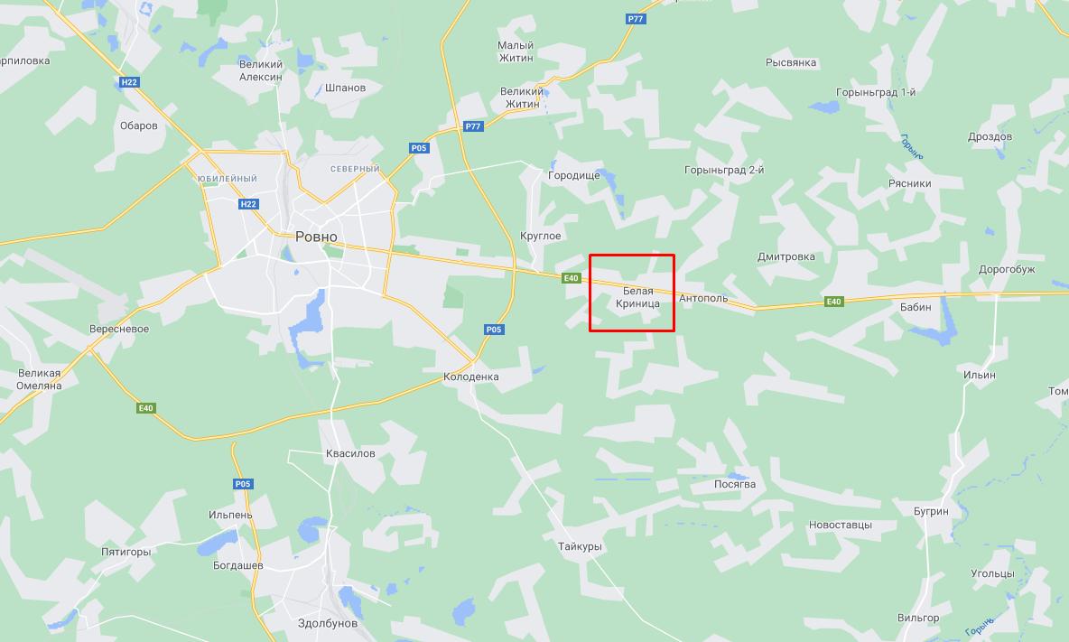 Преступление произошло в селе Белая Криница.