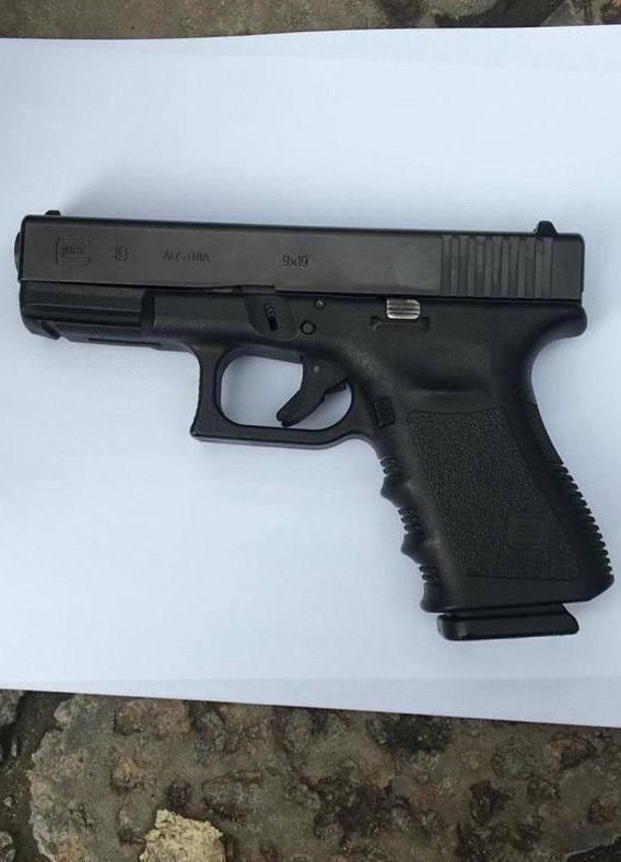 Пістолет, з якого нібито було застрелено Мамедова