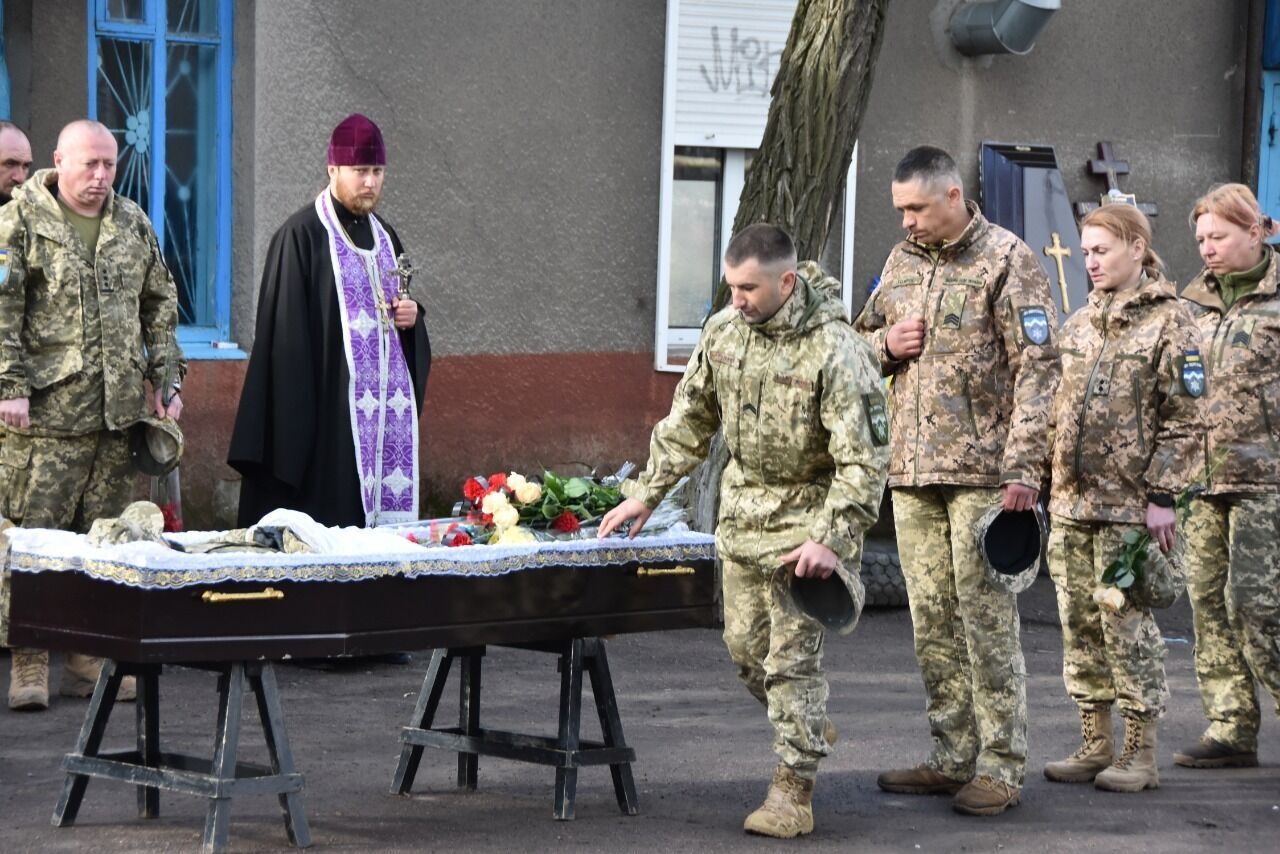Прощання з захисником України