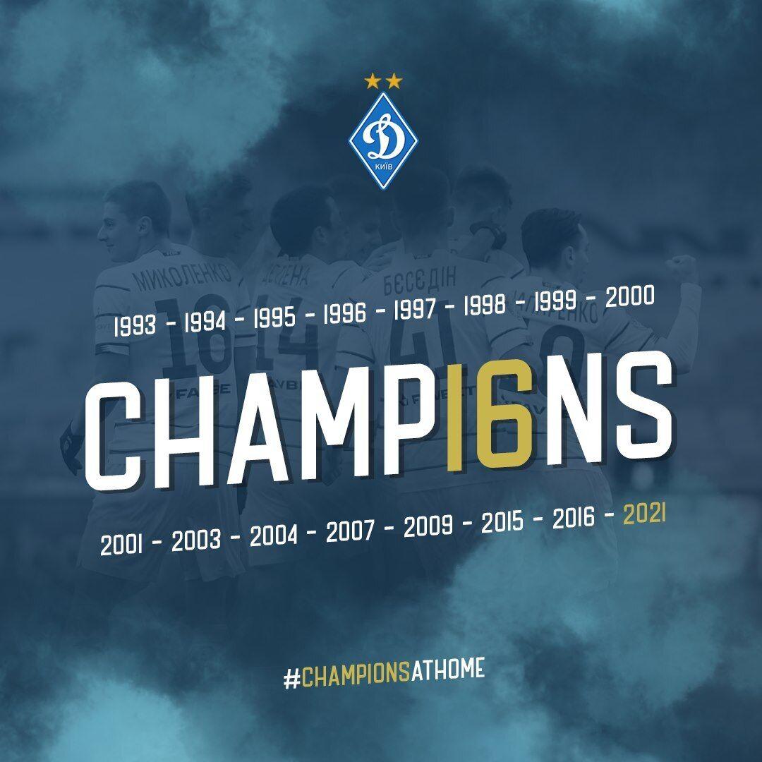 Динамо виграло УПЛ