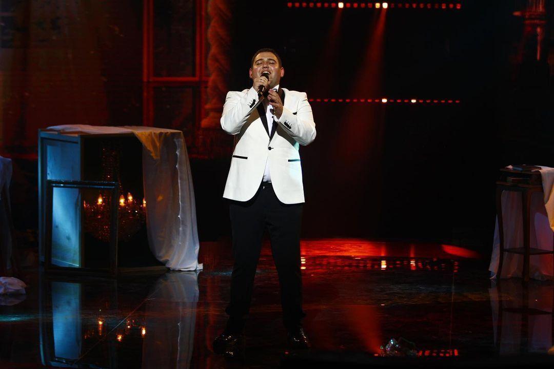 Сергій Нейчев виступив у фіналі шоу.
