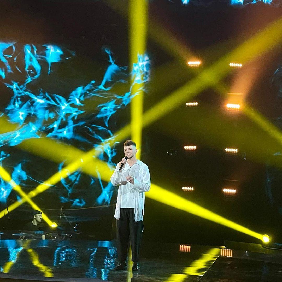 Сергій Лазановський виступив у фіналі шоу.