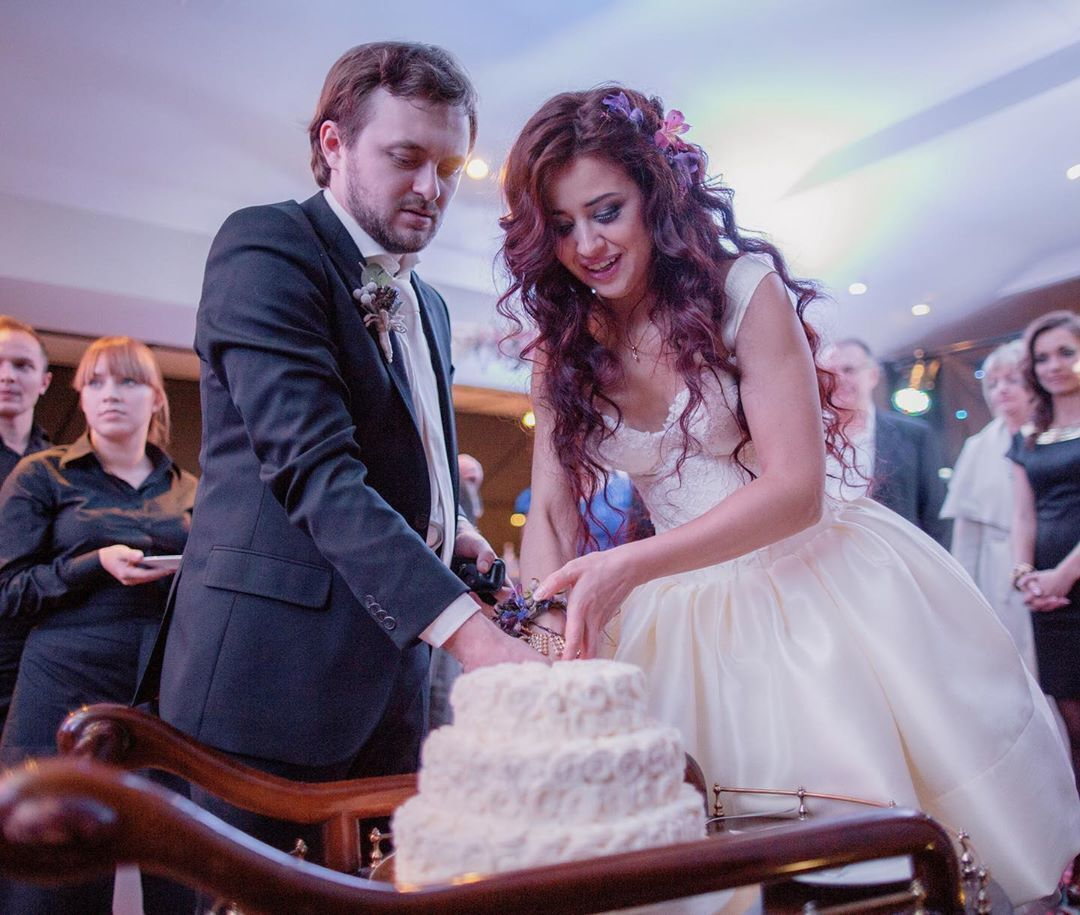 Свадебное фото Михаила и Ярославы