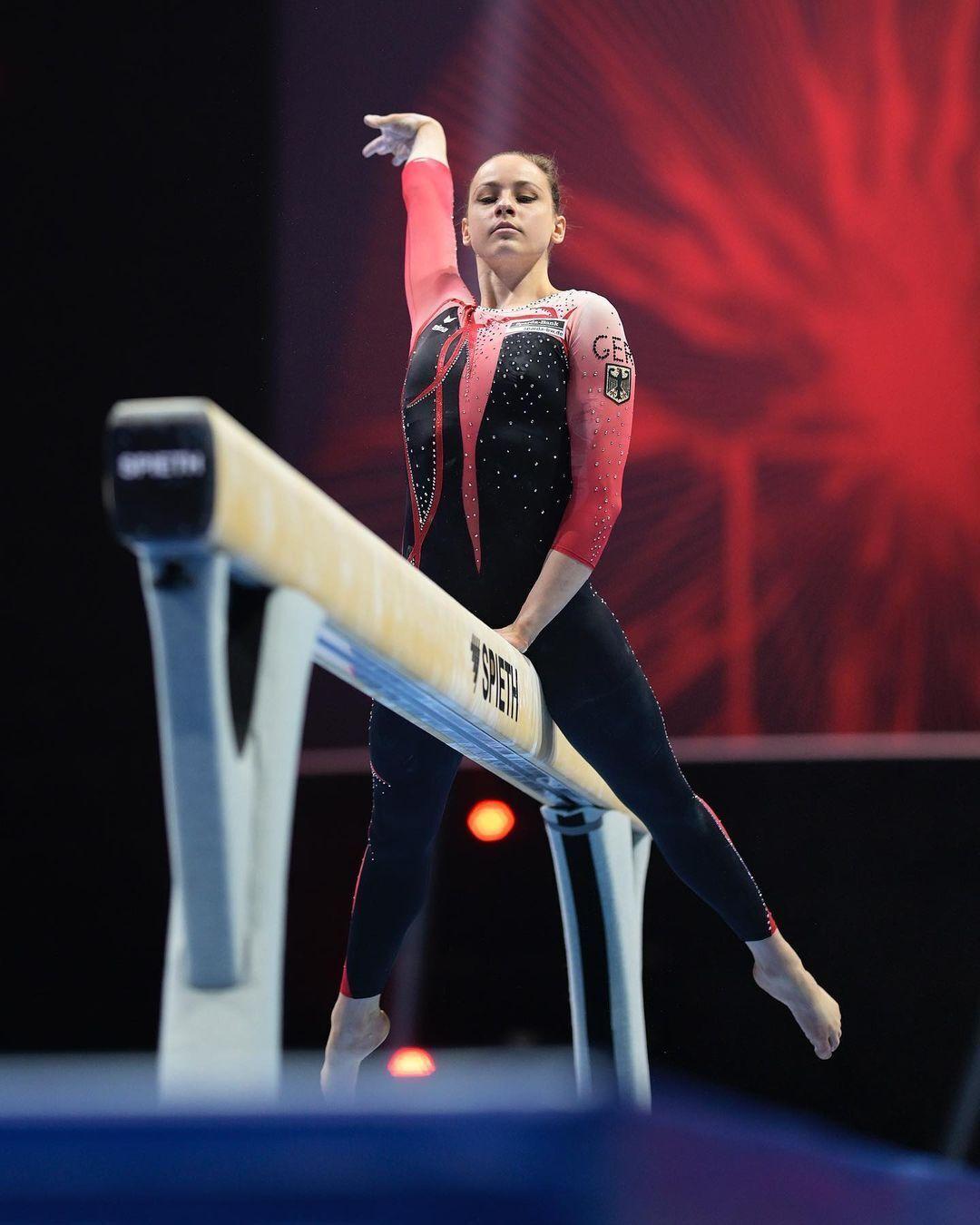 Сара Восс на чемпионате Европы