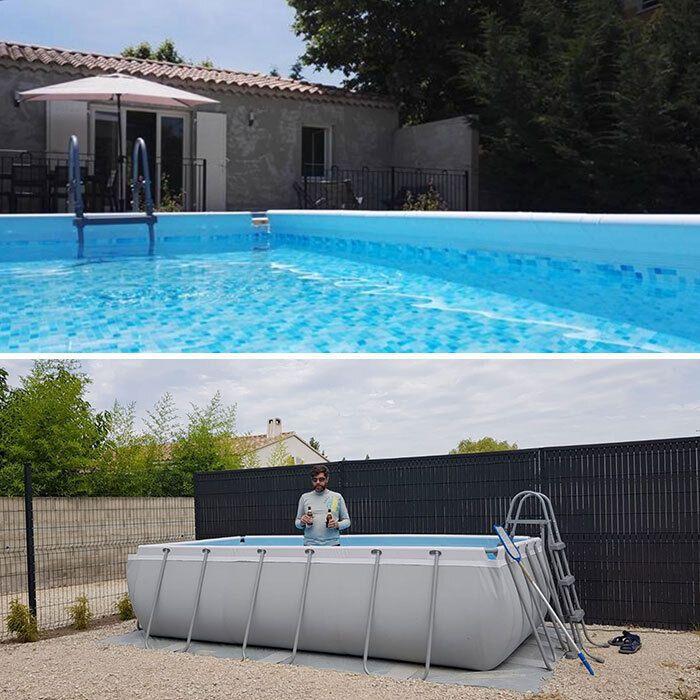 Ожидания и реальность: бассейн на фото не настолько большой