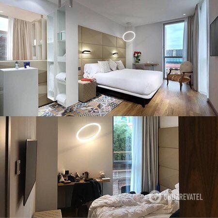 Испанский сайт опубликовал ложное фото комнаты отеля