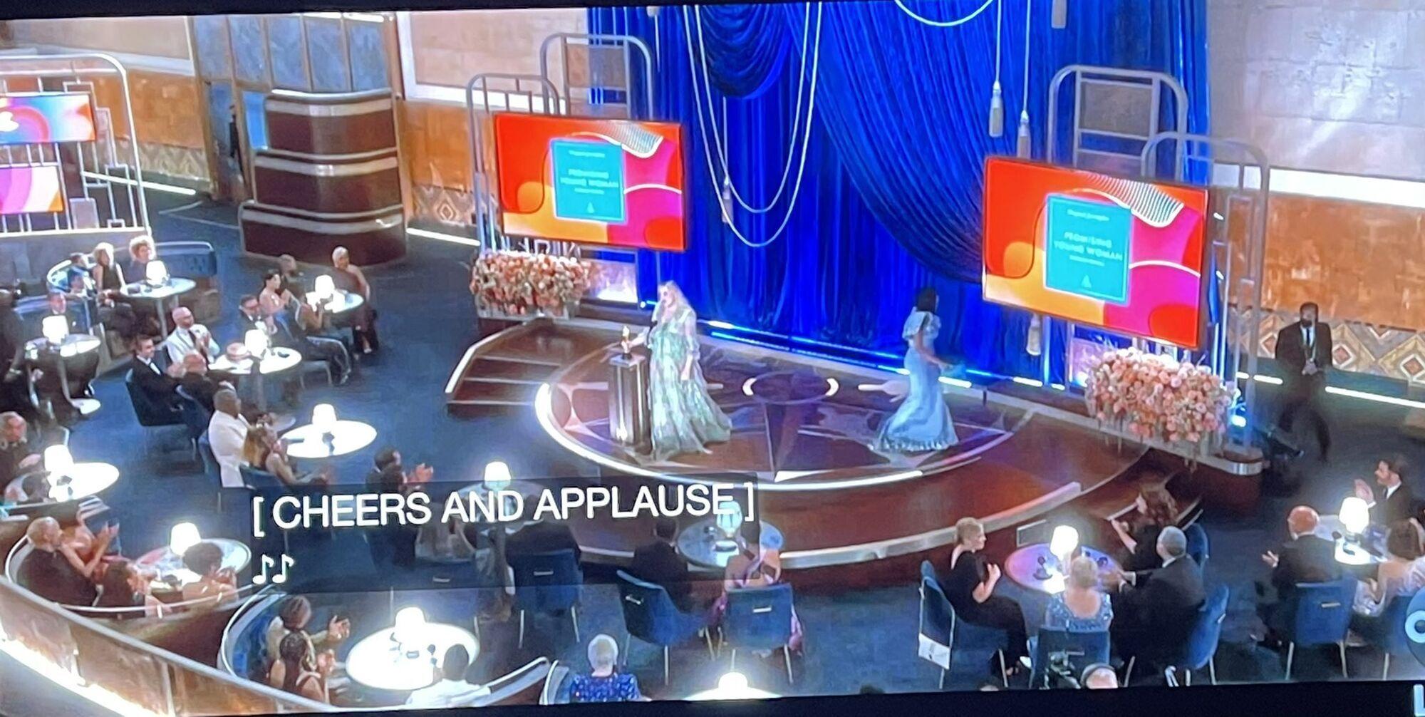 """Во время трансляции """"Оскара"""" в знаменитом Dolby Theatre, казалось, что людей в зале не было"""