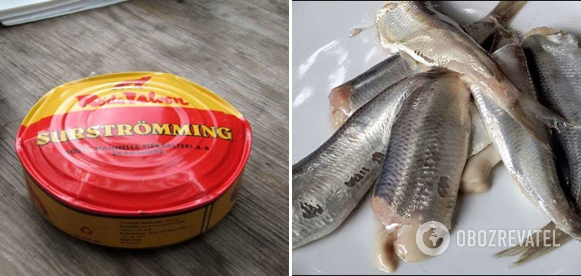В Швеции едят испорченную рыбу.