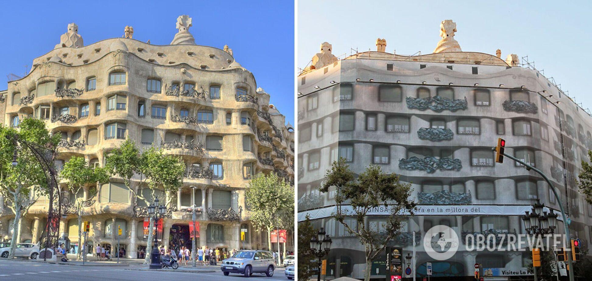 Отель находится на реставрации.