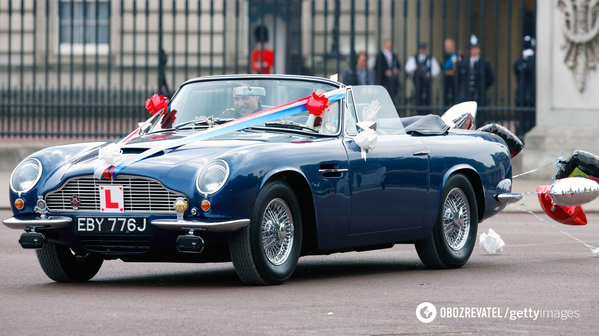 Aston Martin – одна из самых любимых марок авто в Букингемском дворце.