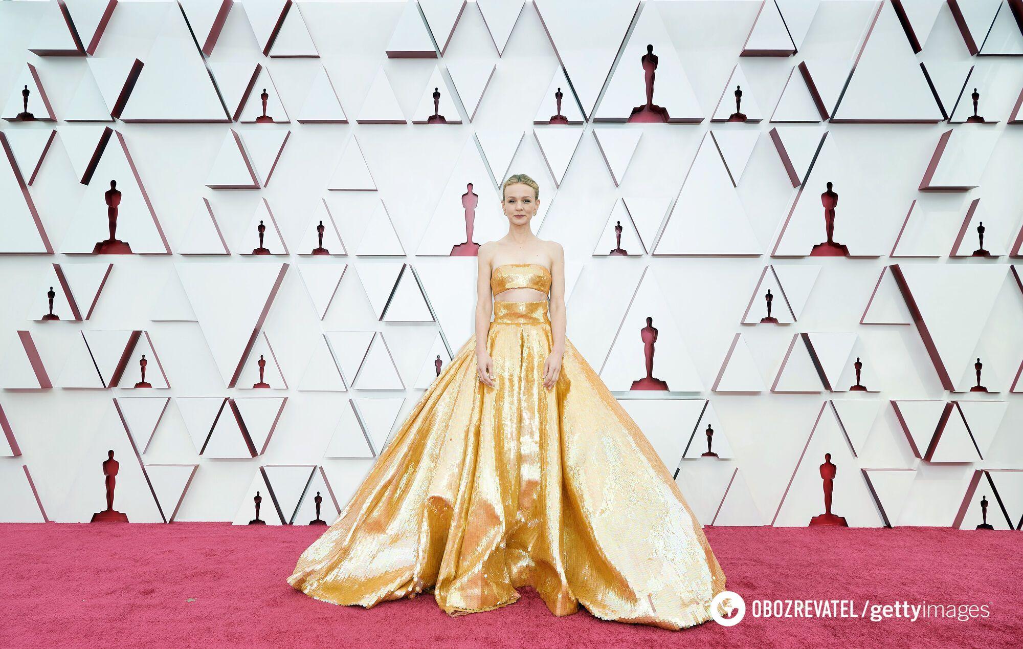 Кэрри Маллиган в платье Valentino Couture