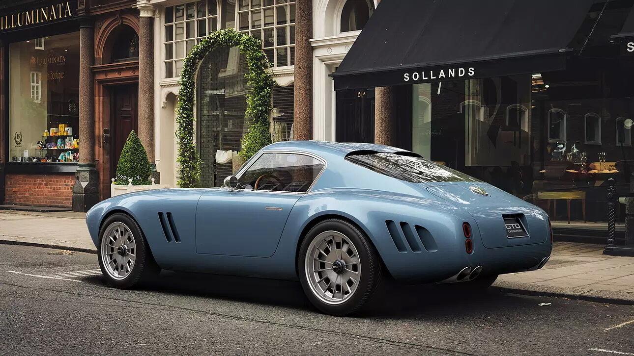 Автомобіль створений за мотивами легендарного Ferrari 250 GTO
