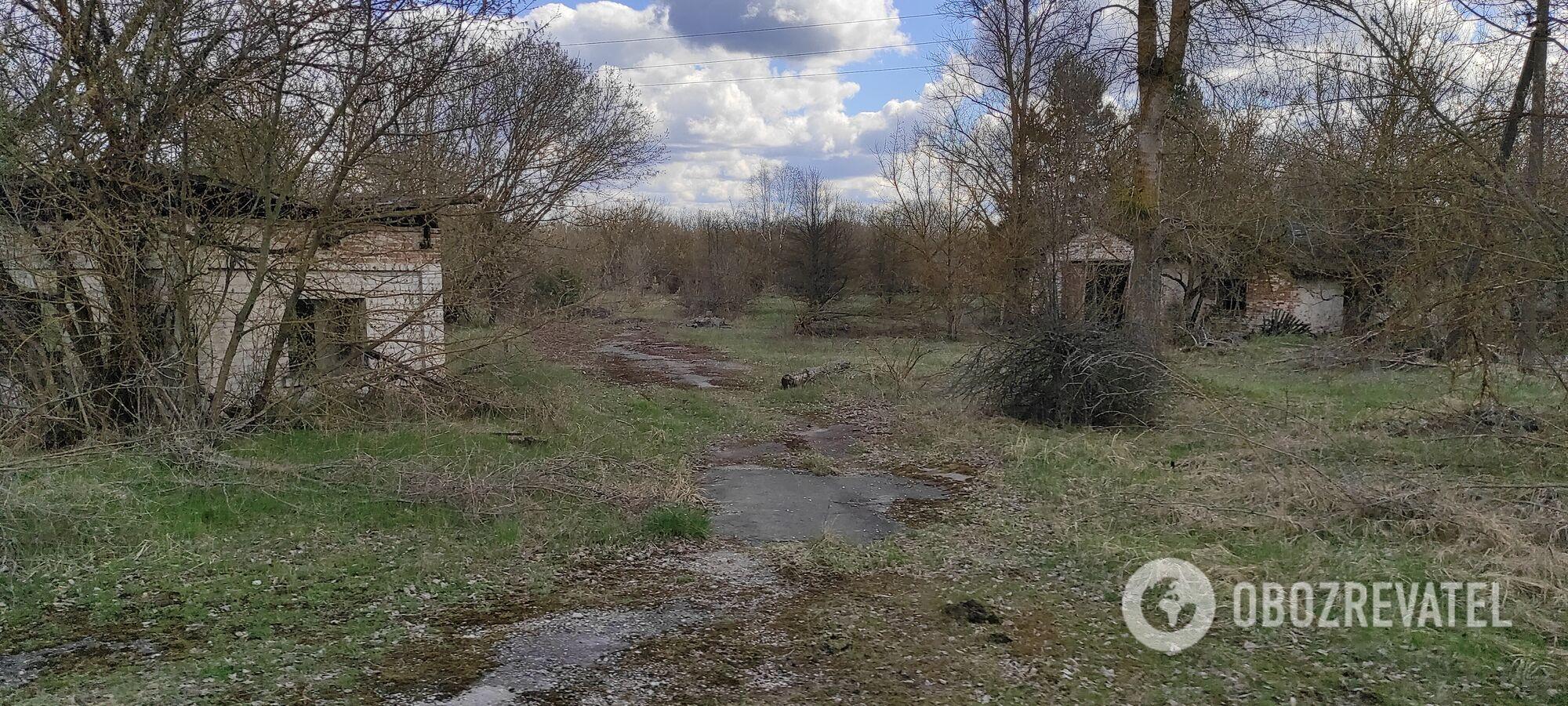 Заброшенные здания Чернобыльской зоны.