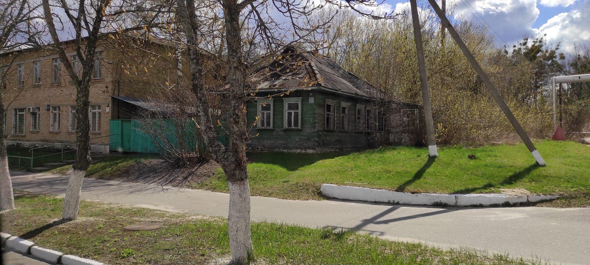 Центр Чернобыля.