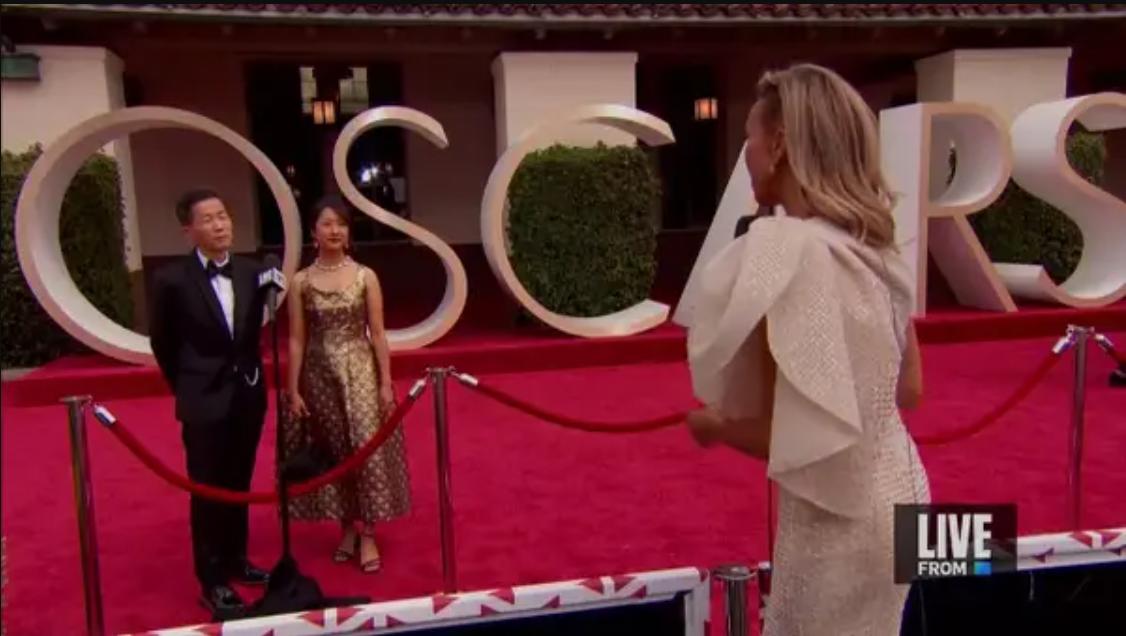 """Интервью на ковровой дорожке """"Оскара"""" были слишком социально дистанцированными"""