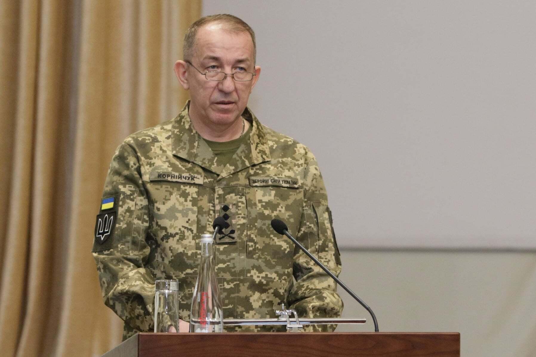 Начальник Генштабу ЗСУ генерал-лейтенант Сергій Корнійчук.