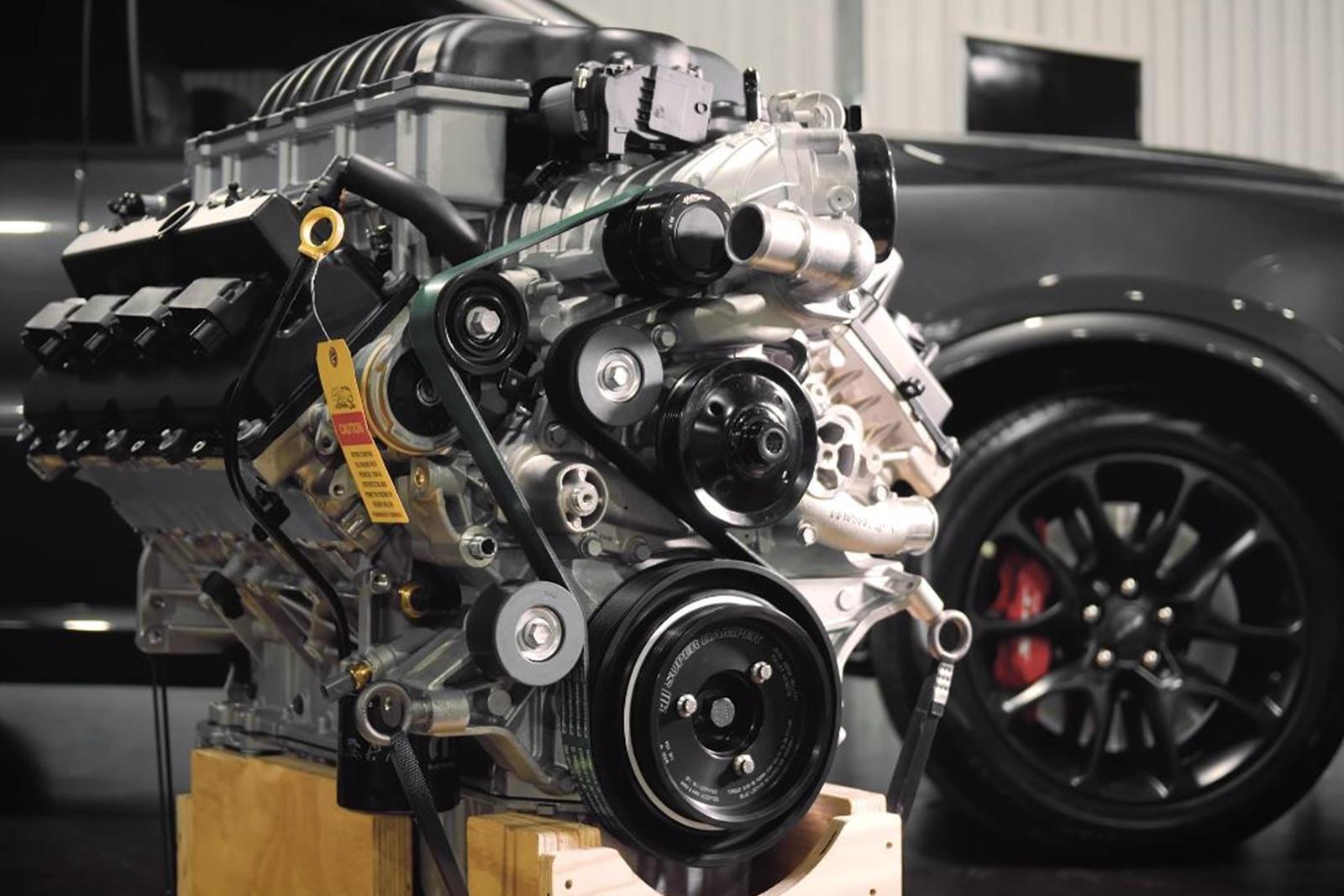 Двигатель Hellephant от Mopar