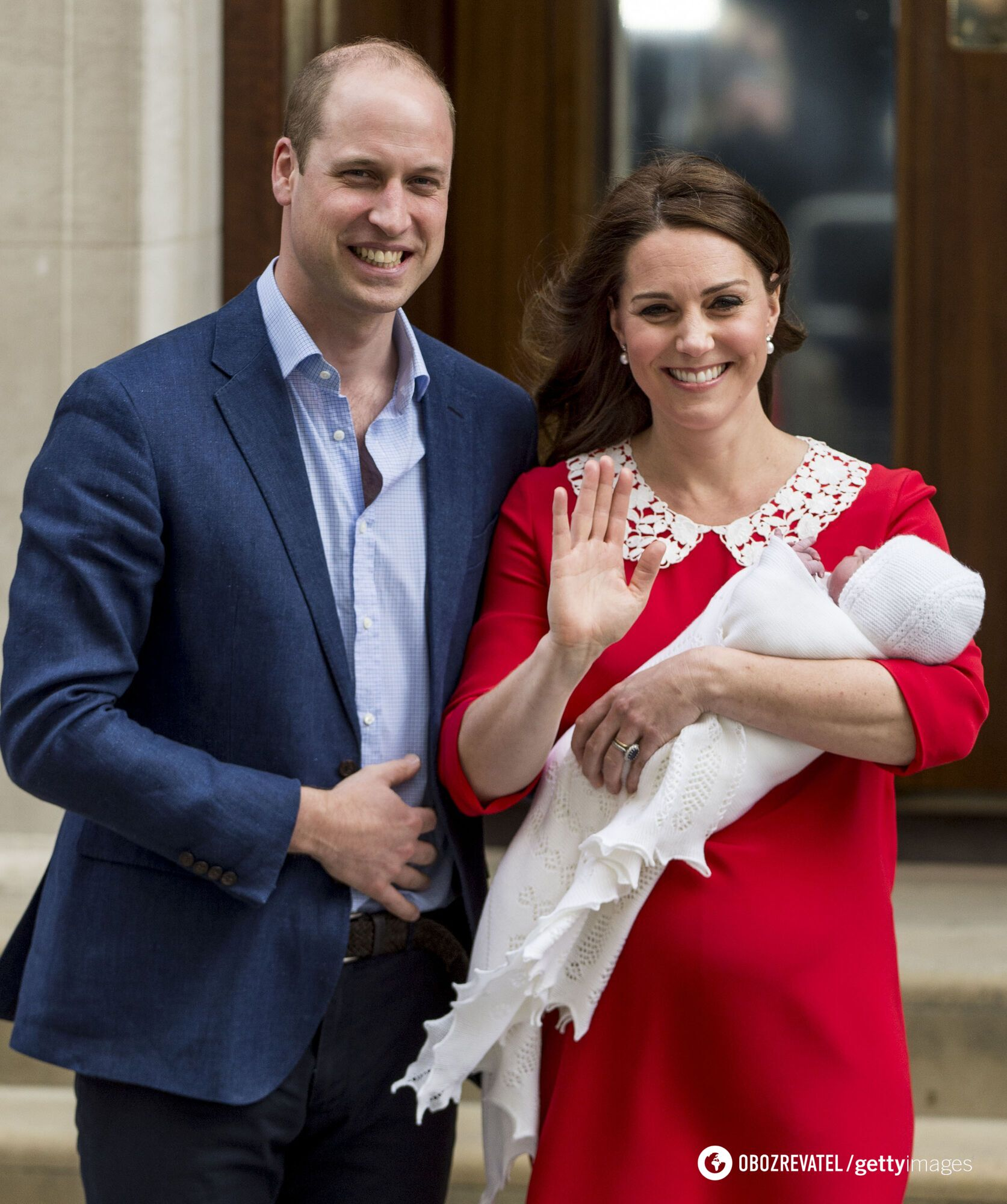 Кейт и Уильям воспитывают троих детей.