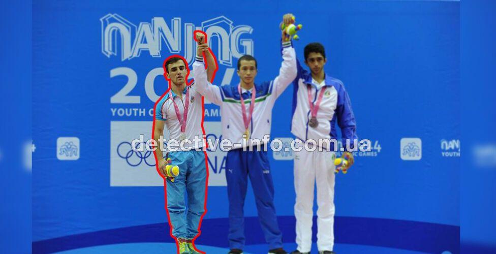 Юсіфі/Наджафов брав участь у Других юнацьких літніх Олімпійських іграх