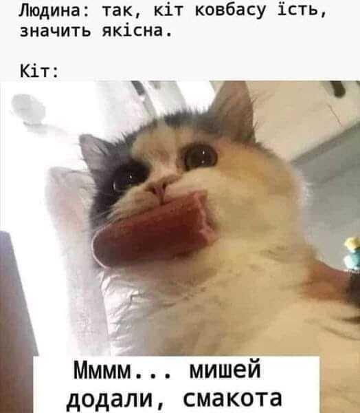 Мем про ковбасу