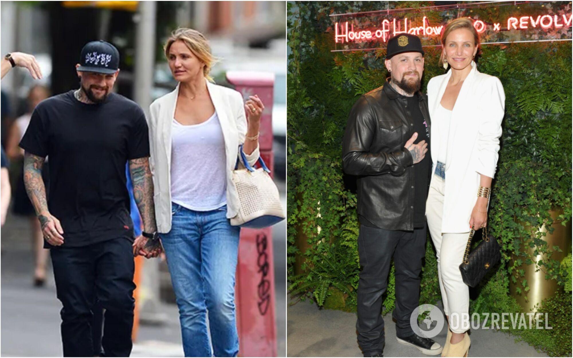 Рост бывшей актрисы Камерон Диаз составляет 174 см, а ее мужа – 168 см