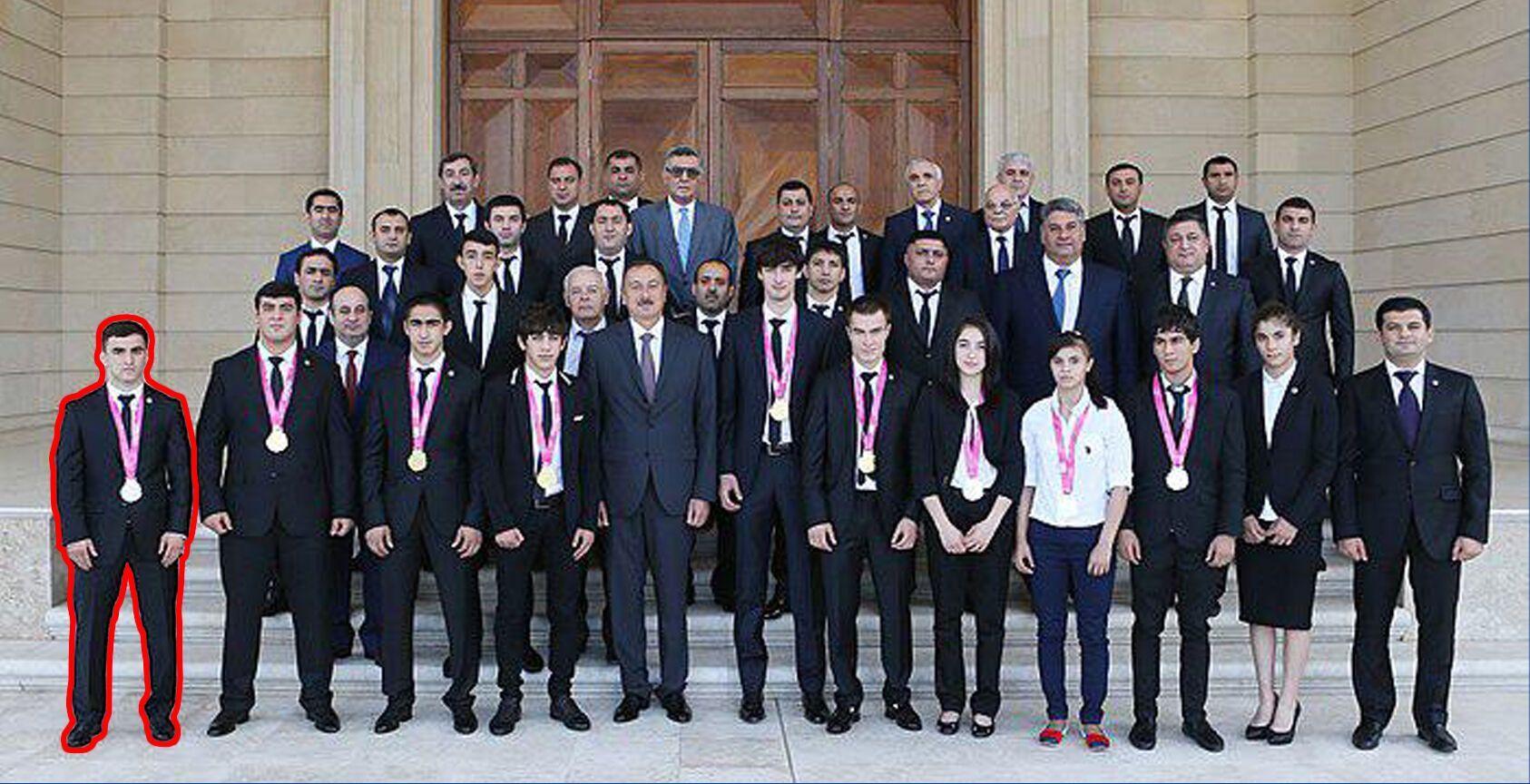 Наджафова вітав президент Азербайджану Ільхам Алієв