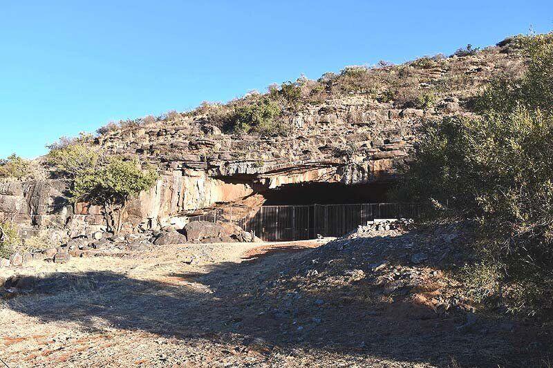 Пещера Вандерверк в Африке
