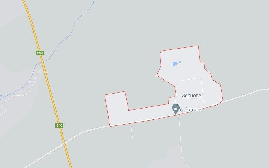 Оружие обнаружили в селе Зерновое возле Харькова