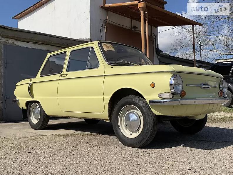 ЗАЗ-968 в состоянии нового автомобиля