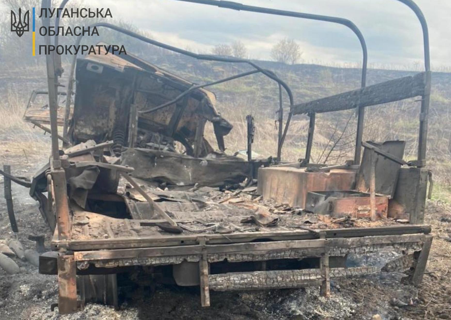 Наслідки вибуху, через який загинув захисник України і ще троє зазнали поранень