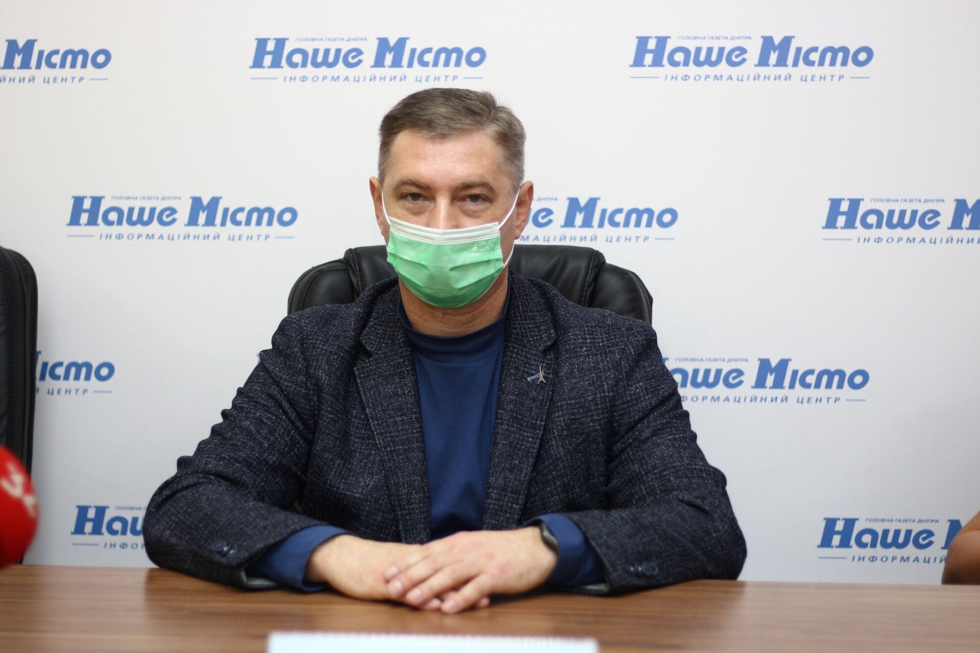 Генеральный директор городской клинической больницы № 21 Николай Турчин