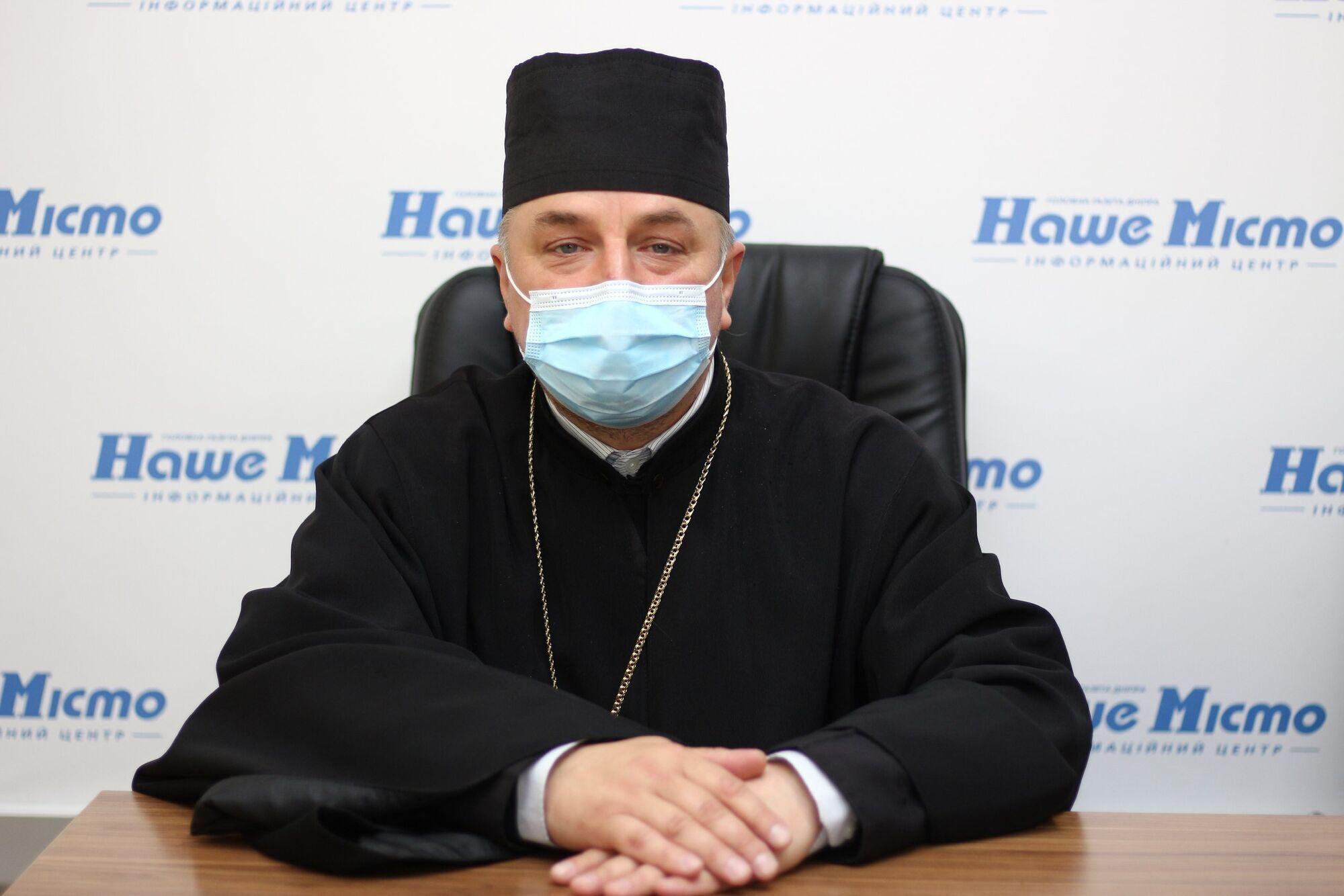 Священник ПЦУ, военный капеллан Дмитрий Поворотный