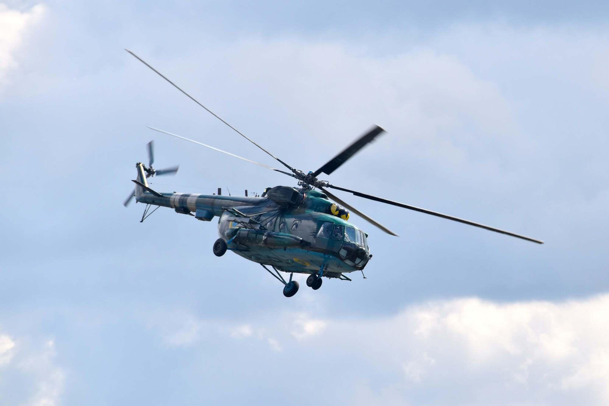 Вертолетчики ВСУ выполнили упражнения из курса боевой подготовки