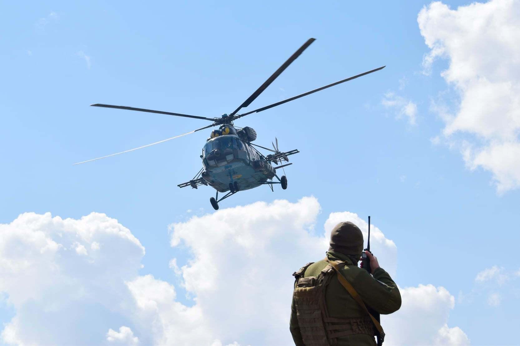 Тренировка вертолетчиков ВСУ проводилась без реального применения авиационного вооружения