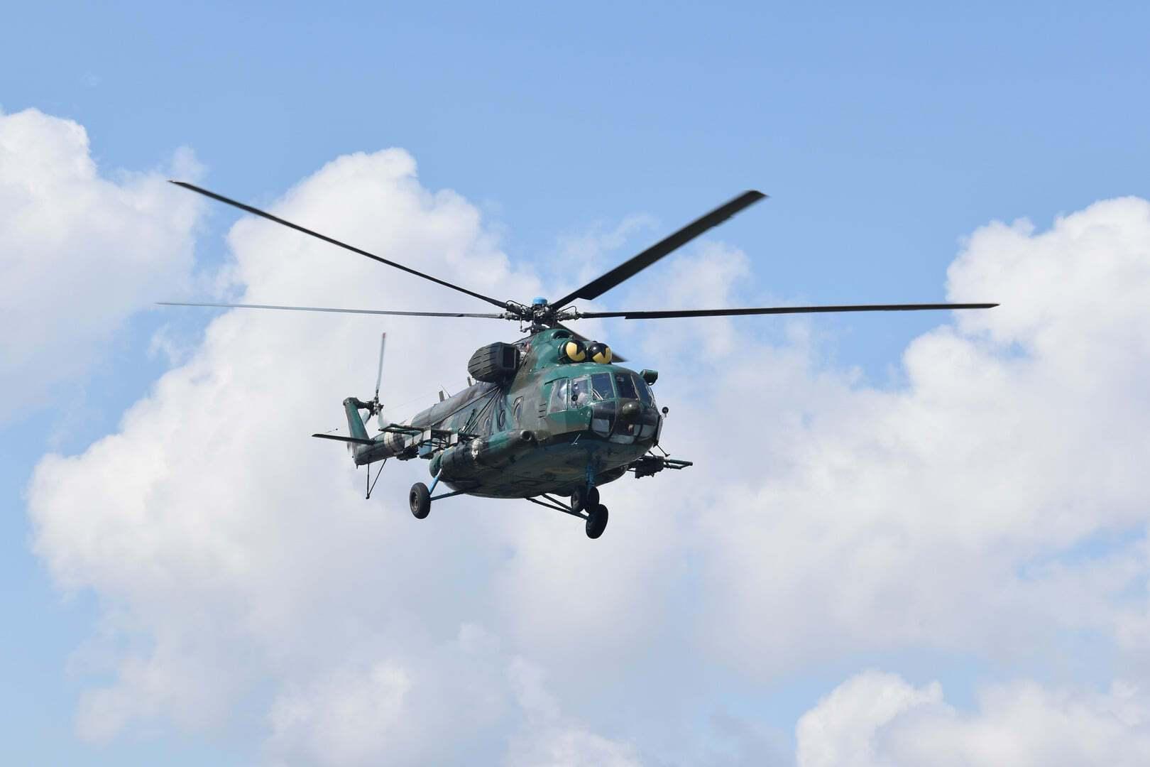 Экипажи Ми-8 показали, что готовы к действиям в случае обострения на фронте