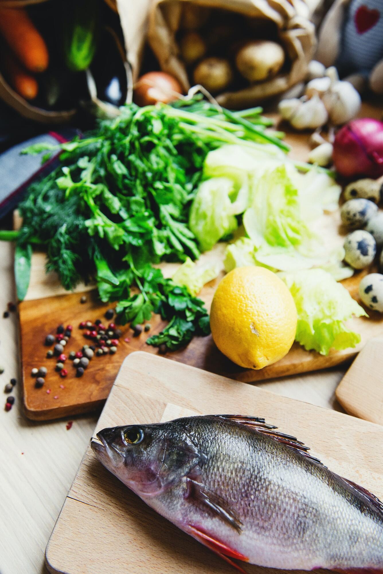 Сухий маринад для риби