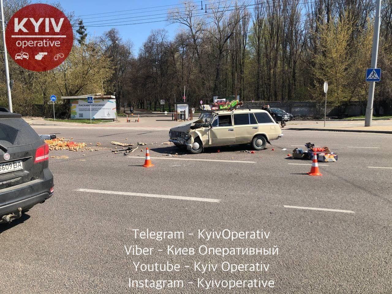 Причини аварії встановлять правоохоронці.